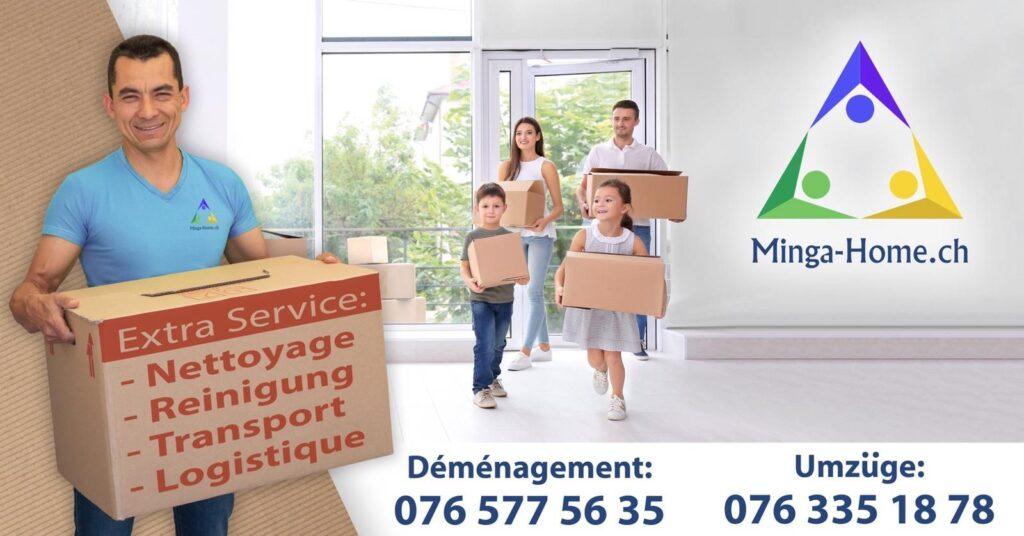 Minga-Home.ch entreprise de déménagement fribourg